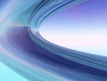 Blauwe spiralen royalty-vrije stock foto