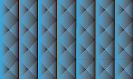 Blauwe staalachtergrond Stock Fotografie