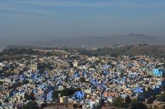 Blauwe stad van Jodhpur Stock Foto