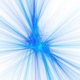 Blauwe ster stock illustratie