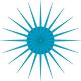 Blauwe ster stock fotografie