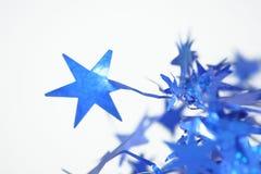 Blauwe sterren Stock Afbeelding