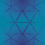Blauwe sterrige achtergrond Royalty-vrije Stock Foto