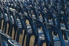 Blauwe Stoel Royalty-vrije Stock Foto