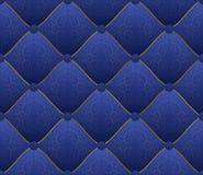 Blauwe stof Stock Fotografie
