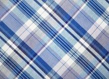 Blauwe stof Royalty-vrije Stock Foto