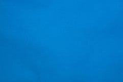 Blauwe stof Royalty-vrije Stock Afbeeldingen