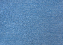 Blauwe stoffentextuur. Stock Fotografie
