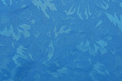 Blauwe stoffentextuur royalty-vrije stock afbeelding