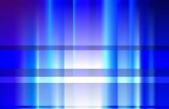 Blauwe stralen. Royalty-vrije Stock Afbeelding