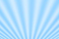 Blauwe stralen. Royalty-vrije Stock Afbeeldingen