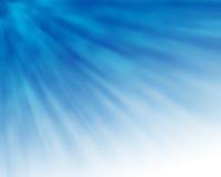 Blauwe Stralen Stock Foto