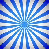 Blauwe Stralen, starburst, zonnestraalachtergrond Royalty-vrije Stock Foto