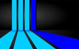 Blauwe Strepenachtergrond Stock Illustratie