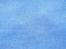 Blauwe structuurachtergrond van blauw Jean Regelmatig patroon stock afbeeldingen