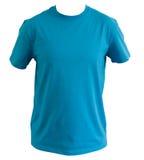 Blauwe t-shirt Royalty-vrije Stock Foto's
