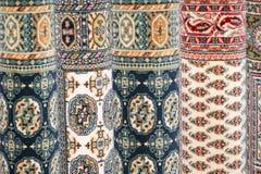 Blauwe tapijten Royalty-vrije Stock Foto