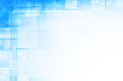 Blauwe technische abstracte achtergrond Stock Foto's