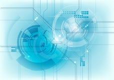 Blauwe technologie Royalty-vrije Stock Afbeeldingen