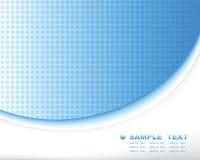 Blauwe technologie abstracte samenstelling als achtergrond royalty-vrije illustratie