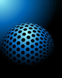 Blauwe technologieachtergrond Stock Foto's