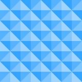 Blauwe tegel naadloze achtergrond met ruitvormige elementen Royalty-vrije Stock Afbeelding
