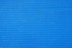 Blauwe tegelachtergrond Stock Afbeeldingen