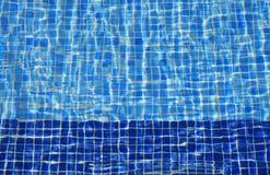 Blauwe tegels Stock Afbeelding