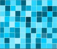 Blauwe tegelsachtergrond Stock Foto's