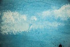 Blauwe Textuur Als achtergrond Royalty-vrije Stock Fotografie