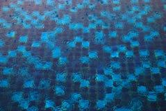 Blauwe textuur en achtergrond Stock Afbeelding