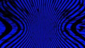 Blauwe Textuur Hypnose halftone psychedelisch art. Grafische in syntwaveachtergrond vector illustratie