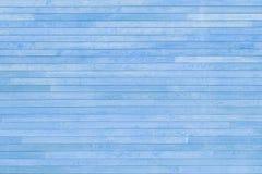 Blauwe textuur van houten latjes royalty-vrije stock foto