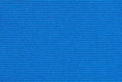 Blauwe textuur van stof Stock Foto