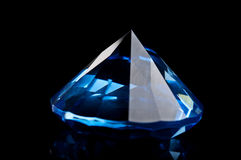 Blauwe topaas royalty-vrije stock foto's