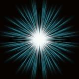 Blauwe Uitbarsting vector illustratie