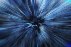 Blauwe uitbarsting Stock Fotografie