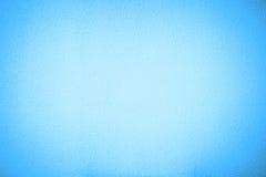 Blauwe van de het vignetstijl van het cementpleister de muurachtergrond Stock Afbeeldingen