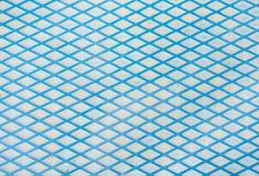 Blauwe van metaallijnen textuur als achtergrond royalty-vrije stock foto