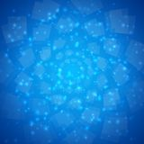 Blauwe vector abstracte achtergrond vector illustratie