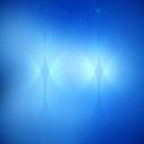 Blauwe vector abstracte achtergrond stock illustratie