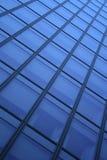 Blauwe venstersachtergrond Stock Fotografie