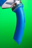 Blauwe Verf stock fotografie