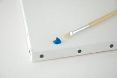 Blauwe verf Royalty-vrije Stock Fotografie