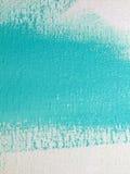Blauwe verf op een muur Royalty-vrije Stock Foto