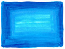 Blauwe verftextuur stock fotografie