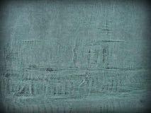 Blauwe versleten doek grunge achtergrond Royalty-vrije Stock Afbeelding