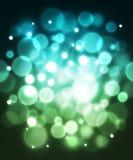 Blauwe vezel optische abstracte achtergrond. Royalty-vrije Stock Afbeelding