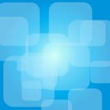 Blauwe vierkanten Royalty-vrije Stock Afbeeldingen