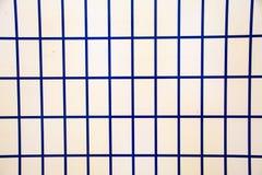 Blauwe vierkanten Naadloos gekleurd patroon Leuke Achtergrond Abstract geometrisch behang van de oppervlakte royalty-vrije stock fotografie